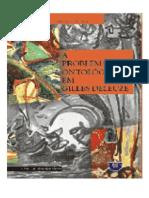 CRAIA, Eladio. A problemática ontológica em Gilles Deleuze(2)