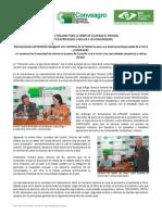 Nota de prensa Titulación Rural