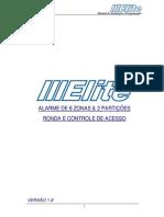 Manual de programação e instalaçao v1.8 Elite