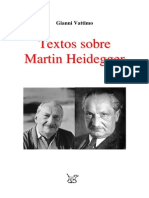 Vattimo Gianni - Textos Sobre Heidegger