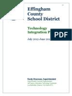 ECSD Tech Plan 2012-15