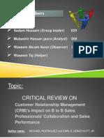 Critical Review Slides