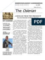 Oslerian June 2009