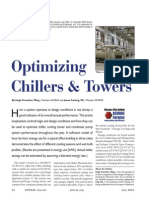 Optimising Chillers and towers