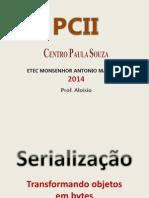 PCII AULA 4 Serializacao