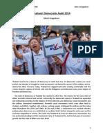 Thailand Democratic Audit 2014