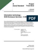 SCSI-3 enclosure services