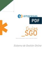 Manual SGO