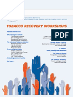 tobacco recovery workshops