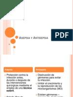 Asepsia y Antisepsia - 2011