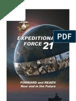EF21 USMC Capstone Concept