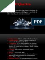 Mineralogia Quartzo