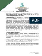 Minutes of Board of Directors Meeting 03 10 2014*