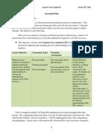 tws 4 assessment plan