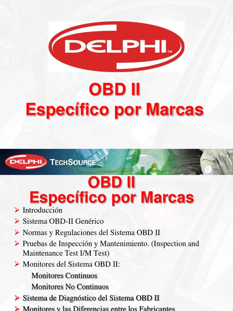 OBD II Específico por marcas