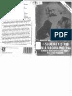 Sociedad y Estado en La Filosofia Moderna (1)