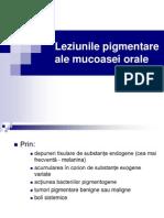 Lp 6 Leziunile Pigmentare Ale Mucoasei Orale