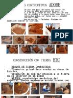 INICIO A LA CONTRUCCIÓN CON TIERRA II