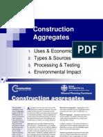 Lecture Construction Aggregates