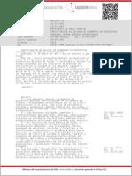 D.S 18 - Certificación de Calidad de Elementos de Protección Personal Contra Riesgos Ocupacionales - [06-SEP-1995]