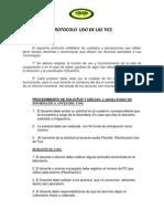 Protocolo Uso de Las Tics