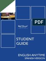 EA Student Guide Spanish