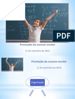 Medidas de Promocao de Sucesso Escolar No Agrupamento