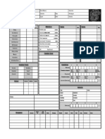 Shadowrun 3 Character Sheet 1.0