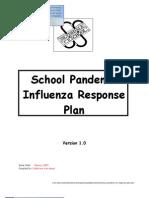 005. School Pandemic Flu Response Plan
