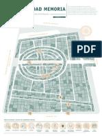 Cartografia del Cementerio Central , Bogotá Ciudad Memoria -  Rituales de la memoria