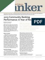 Central Banker - Winter 2013
