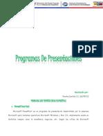 Programas de Presentacione1 Niurka