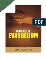 Das volle Evangelium - Zac Poonen