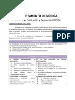 Criterios de Calificación y Evaluación 1