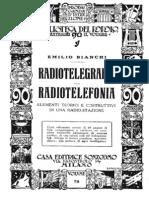 Bianchi - Radiotelegrafia e Radiotelefonia