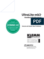 UltraLite-Mk3 Hybrid Handbuch
