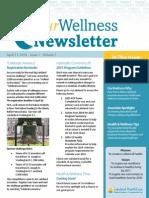 OurWellness Newsletter - April 2014