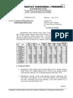 Evaluasi Kinerja BRI Unit Maret 2011