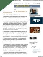 ARGENPRESS.info - Prensa argentina para todo el mundo_ Este y aquel 8 de marzo, Día Internacional de la mujer trabajadora