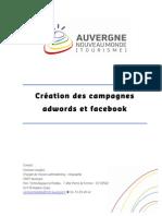 Creation Des Campagnes Adwords Et Facebook