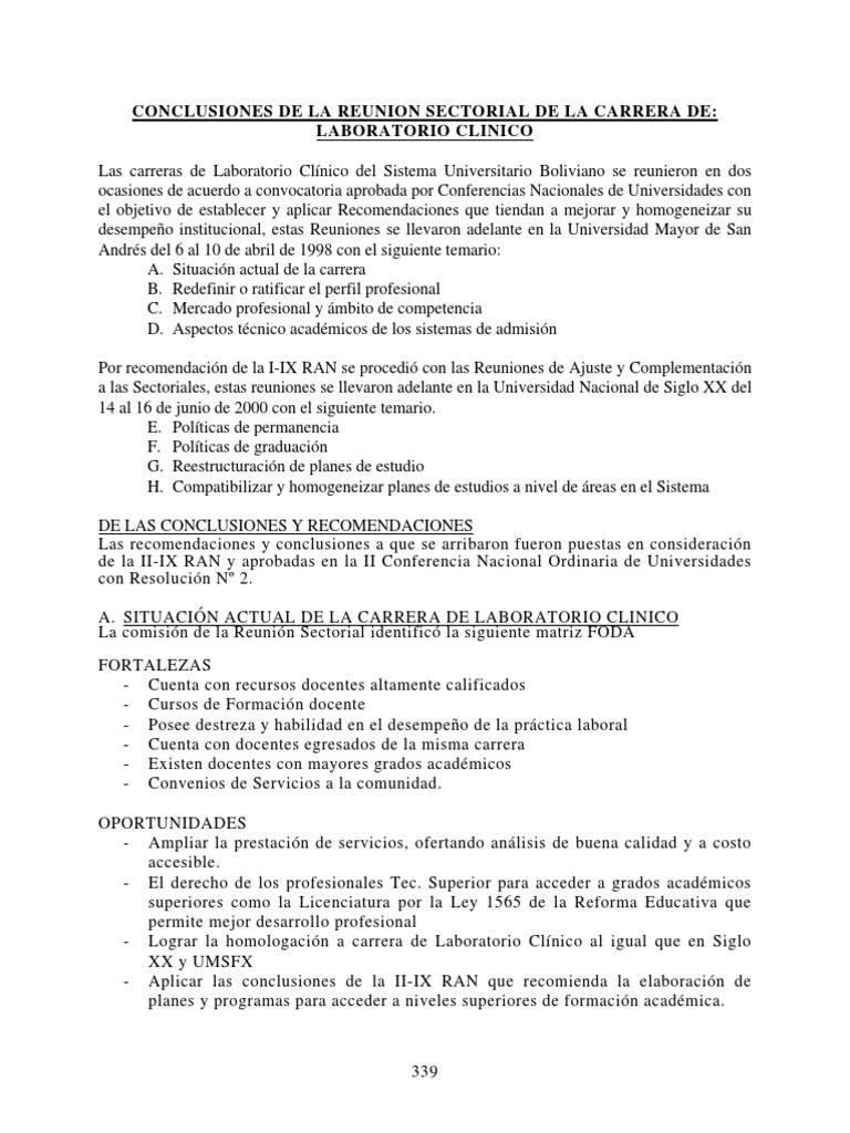 51 II IX R Laboratorio Clinico