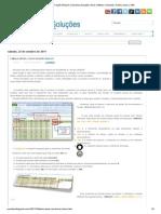 Tabela Móvel com a Função DESLOC _ Excelmax Soluções, Excel, Software, Simulador, Gráfico, Macro, VBA