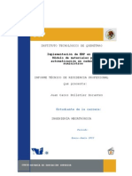 Implementación de ERP en Albéa Módulo de materiales para automatización en cadena de suministros