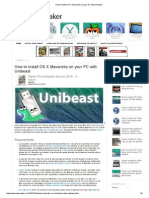 How to Install OS X Mavericks on Your PC With Unibeast