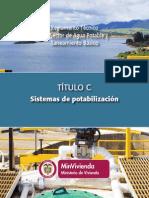 Reglamento Técnico del sector de agua potable y saneamiento basico