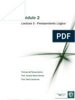 Módulo 2 Lectura 2 Pensamiento Logico Formal.pdf