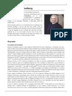Wikipédia - Emanuel Swedenborg (français)