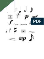 Violin Signs