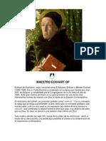 Eckhart de Hochheim o El Maestro Eckhart
