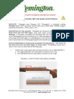 Remington Model 700 & Model Seven Rifle Recall Notice